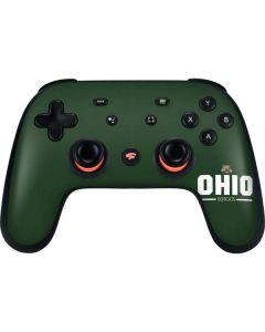 Ohio Bobcats Logo Google Stadia Controller Skin