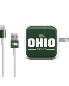 Ohio Bobcats Logo iPad Charger (10W USB) Skin