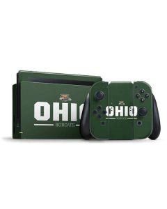 Ohio Bobcats Logo Nintendo Switch Bundle Skin