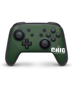 Ohio Bobcats Logo Nintendo Switch Pro Controller Skin