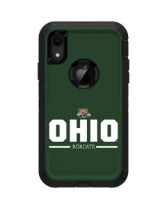 Ohio Bobcats Logo Otterbox Defender iPhone Skin