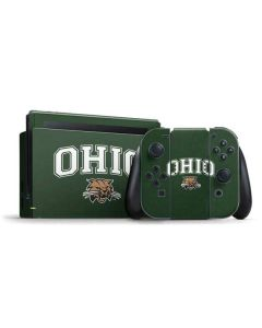 Ohio Bobcats Nintendo Switch Bundle Skin
