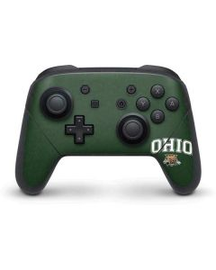 Ohio Bobcats Nintendo Switch Pro Controller Skin