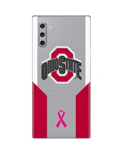 Ohio State Breast Cancer Galaxy Note 10 Skin