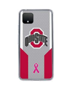 Ohio State Breast Cancer Google Pixel 4 XL Clear Case