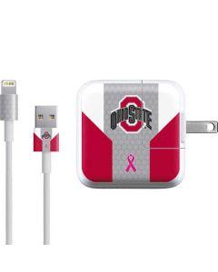 Ohio State Breast Cancer iPad Charger (10W USB) Skin