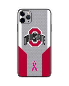 Ohio State Breast Cancer iPhone 11 Pro Max Skin