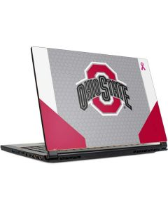 Ohio State Breast Cancer MSI GS65 Stealth Laptop Skin