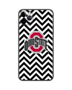 Ohio State Chevron Print iPhone 11 Pro Max Skin