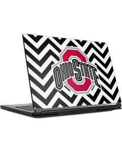 Ohio State Chevron Print MSI GS65 Stealth Laptop Skin