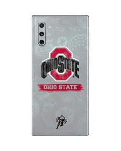 Ohio State Distressed Logo Galaxy Note 10 Skin