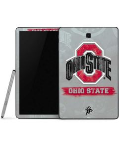 Ohio State Distressed Logo Samsung Galaxy Tab Skin