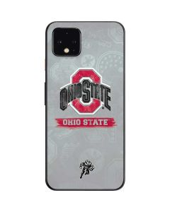 Ohio State Distressed Logo Google Pixel 4 Skin