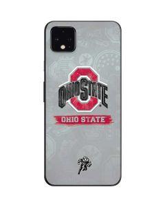 Ohio State Distressed Logo Google Pixel 4 XL Skin