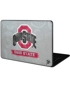 Ohio State Distressed Logo Google Pixelbook Go Skin