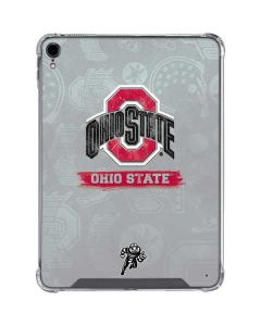 Ohio State Distressed Logo iPad Pro 11in (2018-19) Clear Case