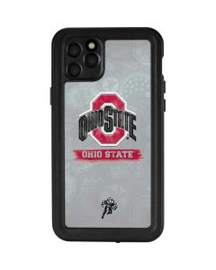 Ohio State Distressed Logo iPhone 11 Pro Max Waterproof Case