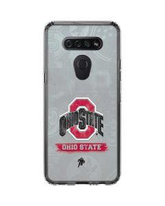 Ohio State Distressed Logo LG K51/Q51 Clear Case