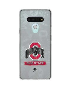 Ohio State Distressed Logo LG Stylo 6 Clear Case