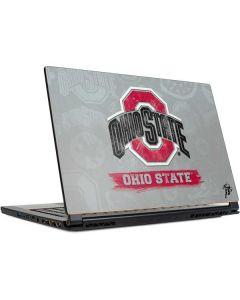 Ohio State Distressed Logo MSI GS65 Stealth Laptop Skin