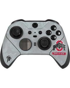 Ohio State Distressed Logo Xbox Elite Wireless Controller Series 2 Skin