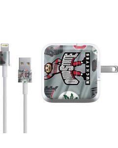 Ohio State Pattern iPad Charger (10W USB) Skin