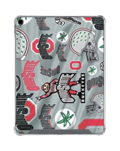 Ohio State Pattern iPad Pro 12.9in (2018-19) Clear Case