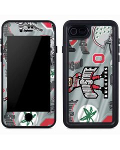 Ohio State Pattern iPhone 8 Waterproof Case