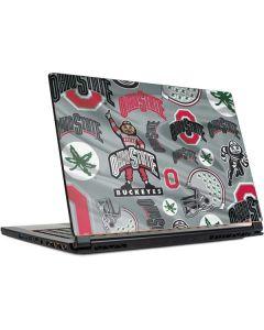 Ohio State Pattern MSI GS65 Stealth Laptop Skin