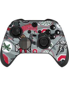 Ohio State Pattern Xbox Elite Wireless Controller Series 2 Skin