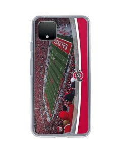 Ohio State Stadium Google Pixel 4 Clear Case