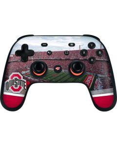 Ohio State Stadium Google Stadia Controller Skin