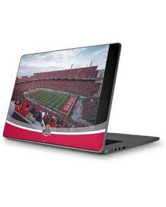 Ohio State Stadium Apple MacBook Pro 17-inch Skin