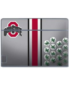 Ohio State University Buckeyes Galaxy Book Keyboard Folio 10.6in Skin