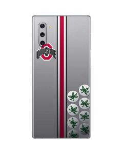 Ohio State University Buckeyes Galaxy Note 10 Skin