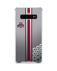 Ohio State University Buckeyes Galaxy S10 Clear Case