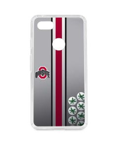 Ohio State University Buckeyes Google Pixel 3 XL Clear Case