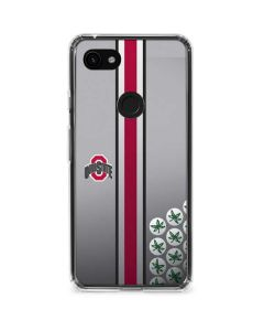 Ohio State University Buckeyes Google Pixel 3a Clear Case