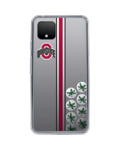 Ohio State University Buckeyes Google Pixel 4 Clear Case