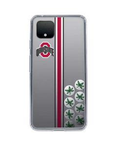 Ohio State University Buckeyes Google Pixel 4 XL Clear Case
