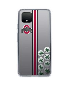 Ohio State University Buckeyes Google Pixel 4 XL Clear Case