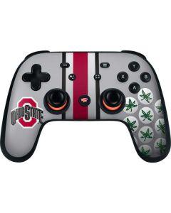 Ohio State University Buckeyes Google Stadia Controller Skin