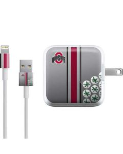 Ohio State University Buckeyes iPad Charger (10W USB) Skin