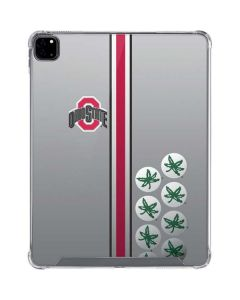 Ohio State University Buckeyes iPad Pro 12.9in (2020) Clear Case