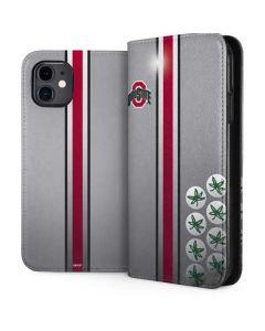 Ohio State University Buckeyes iPhone 11 Folio Case