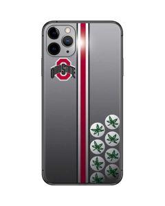 Ohio State University Buckeyes iPhone 11 Pro Max Skin