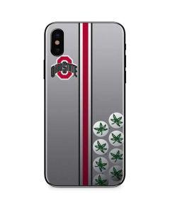 Ohio State University Buckeyes iPhone X Skin