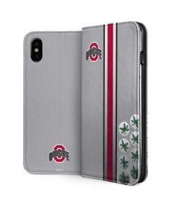 Ohio State University Buckeyes iPhone XS Max Folio Case