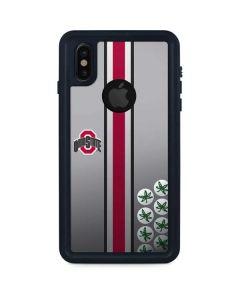 Ohio State University Buckeyes iPhone XS Waterproof Case