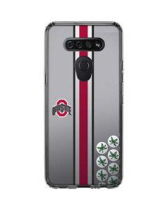 Ohio State University Buckeyes LG K51/Q51 Clear Case